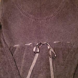MODA INTERNATIONAL Viscose Black Sweater SZ XS